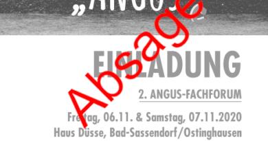 Absage Angus-Fachforum
